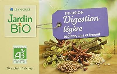Jardin Bio Infusion Digestion Légère 30 g - Lot de 4