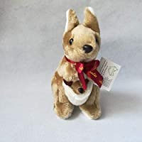 hhuanxiao Lovely Kangaroo Plush Toy About 20cm Kangaroos Doll Rare Animals