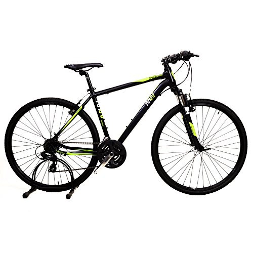 Infinite Mixway-(Hb)24speed-F(19) 700x35 Aluminium Unisex Hybrid Cycle