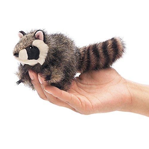 Folkmanis Puppets 2646 - Mini Waschbär (Folkmanis Baby-puppen)