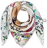 CODELLO Damen Schal 81032903, Weiß (Off-White 17), One size (Herstellergröße: EG)