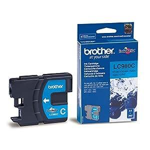 Brother Original LC980C Cyan Ink Cartridge LC980C