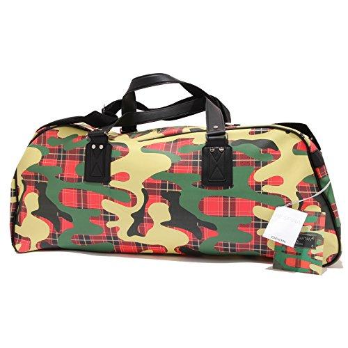 borsone CAMOTARTAN 6191U FOR Multicolore GEOX camouflage unisex bag ecopelle HSwZqgP