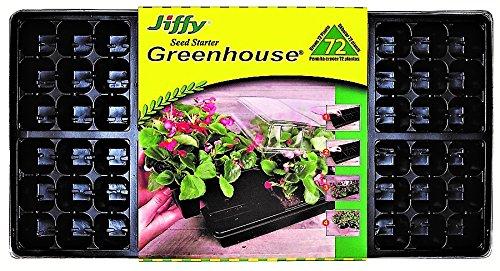 Plantation produits T72h Jiffy Easy Grow effet de serre