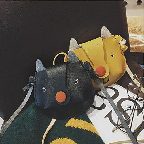BZLine® Kinder Cute Cartoon Fashion Mini Schultertasche Handtaschen Grün