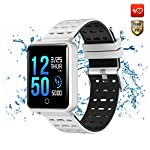 CanMixs Smart Watch CM05 IP68 Waterproof Touch Screen Wristband Fitness Tracker Bracelet Activity Tracker With Heart Rate Monitor Sleep Monitor Pedometer Step Calorie Counter For IOS Android