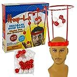 Michel Toys Basketball-Spiel für den Kopf HOOP STAR mit 20 Bällen
