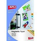 APLI Papel Magnetico A4 8hojas para Inkjet
