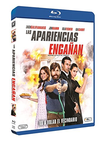 Die Jones: Spione von nebenan (Keeping Up with the Joneses, Spanien Import, siehe Details für Sprachen)