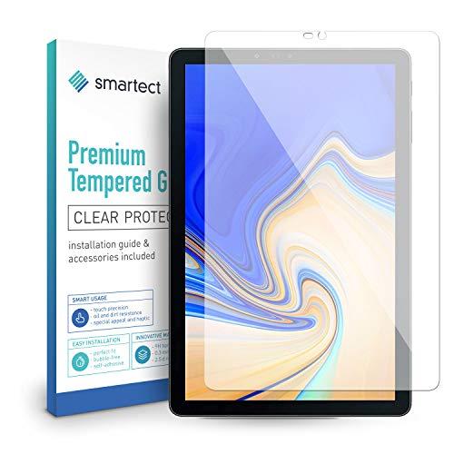 smartect Panzerglas für Samsung Galaxy Tab S4 (T830 / 835) - Bildschirmschutz mit 9H Härte - Blasenfreie Schutzfolie - Anti Fingerprint Panzerglasfolie