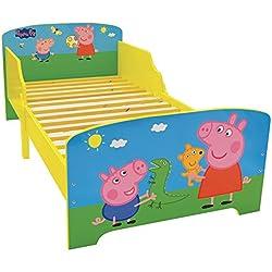 Fun House 712843Peppa Pig Cama Infantil MDF 144x 77x 59cm