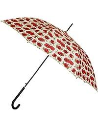 Signare Paraguas Mango de Bastón en el diseño Amapola