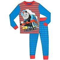 Thomas The Tank Engine Boys Thomas The Tank Pyjamas - Snuggle Fit - Age 6 to 7 Years