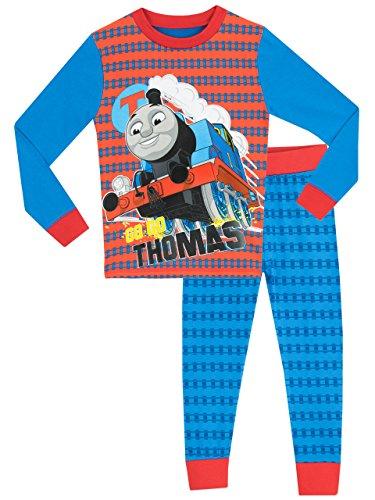 Thomas die kleine Lokomotive Jungen Thomas the Tank Schlafanzug - Slim Fit - 104cm