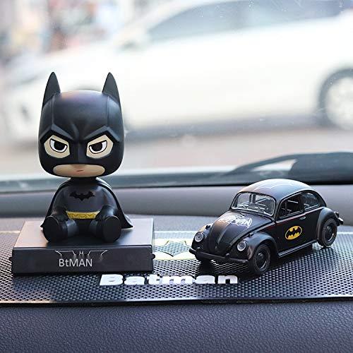 Batman Scosse I Suoi Modelli Di Auto Della Lega Sveglia Della Bambola Capa Ornamenti Auto Auto Batman +