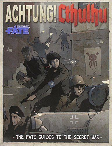 Achtung! Cthulhu Fate Guide to the Secret War by Lynne Hardy (2014-08-01)