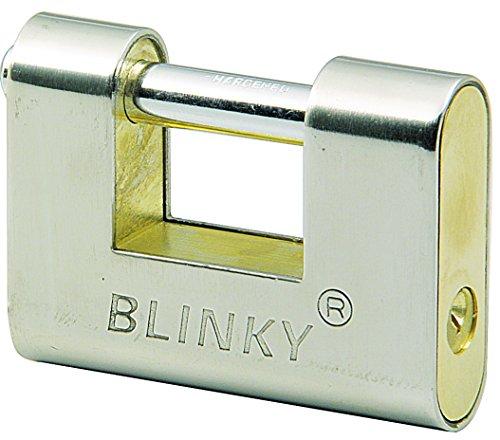 Blinky 26640-80 Lucchetto per Serrande Corazzati, 90 mm