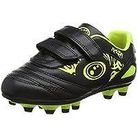 OPTIMUM Razor Velcro Moulded Stud, Chaussures de Football garçon
