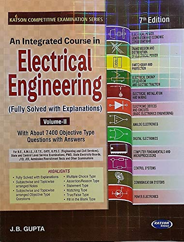 An Integrated Course in Electrical Engineering - Volume 2, 7th Edition