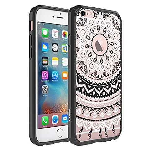 Coque iPhone 6, Coque iPhone 6s, Parubi Retro Totem Mandala