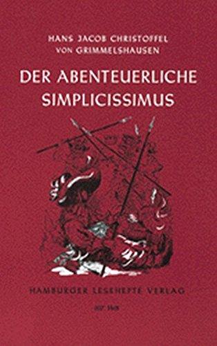 Preisvergleich Produktbild Der abenteuerliche Simplicissimus (Hamburger Lesehefte)