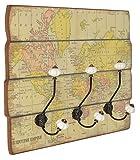 Garde-robe-portemanteau-MDF-Earth-bois-40-x-60-cm-crochets-en-mtal-style-vintage-murale-moderne-campagnard