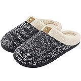 Pantofole Inverno Donna Ciabatte da Uomo Pantofole da Casa Cotone Scarpe Caldo Peluche Casa Pattini Antiscivolo Scarpe da Casa