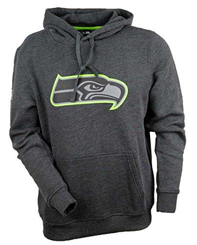 New Era Two Tone Pop Herren Sweater Seattle Seahawks Dunkelgrau, Größe:S