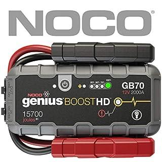 NOCO Genius Boost HD 2.000A ultra-sicheres 12V-Lithium-Starthilfegerät
