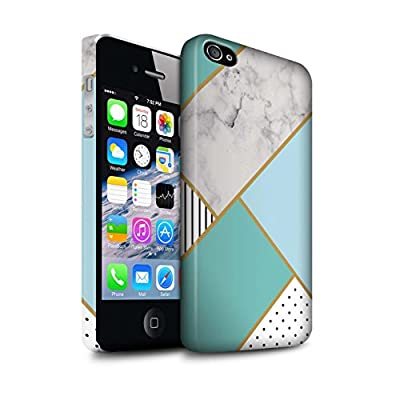 STUFF4 Phone Case/Cover/Skin / IP-3DSWM / Geometric Marble Pattern Collection from Stuff4