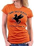 Million Nation, t-shirt da donna Camp camp half-blood Orange 42