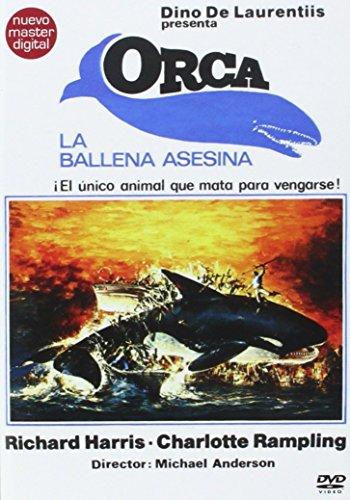 Orca, La Ballena Asesina Dvd [Dvd] (2014) Richard Harris, Charlotte Rampling,--- IMPORT ZONE 2 ---