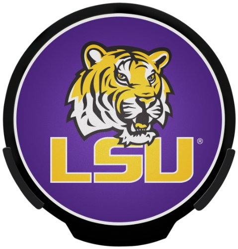 Unbekannt NCAA LED Power Aufkleber, PWR170102, LSU Tigers, 8.5