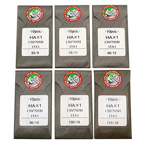 /# 100/Combo Universale x 5/Aghi ORGAN NEEDLES Organo Aghi 4964832150301/Aghi universali # 70/