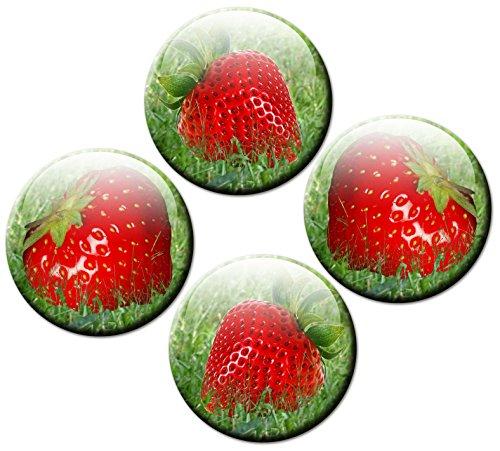 Kühlschrankmagnete Erdbeere 4er ...