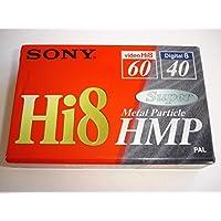 Sony P560HMP - Cinta Hi-8 virgen (tamaño de cinta: 8 mm, 60 minutos)