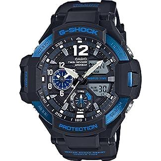Casio G-Shock Analog-Digital Black Dial Men's Watch-GA-1100-2BDR (G639)