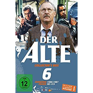 Der Alte - Collector's Box Vol. 06 (Folgen 101-115) [5 DVDs]