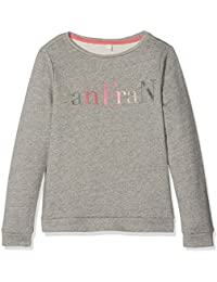 Esprit Kids RI1511F, Sweat-Shirt Fille, Gun Metal 015, X-Large (Taille Fabricant: XL)