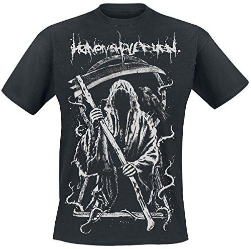 Heaven Shall Burn Grim Reaper T-Shirt Schwarz M (Burn-jungen-t-shirt)