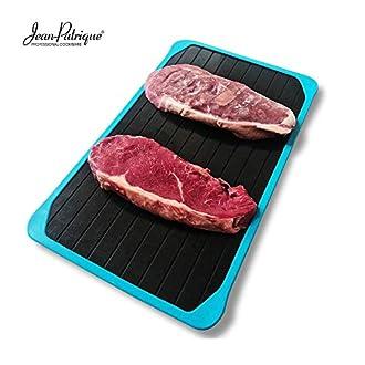 Jean-Patrique Bac à viande à décongélation rapide | Décongélation des aliments congelés en quelques minutes | Pas besoin d'électricité