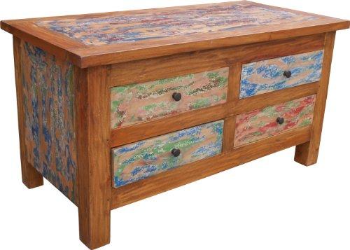 Guru-Shop Dresser, Commode, Buffet Fabriqué à Partir de Bois Recyclé, 54x102x37 cm, Commodes