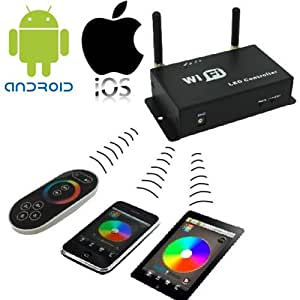 JnDee™ LED Strip WiFi Controller- Control your RGB Strip from your iPhone, iPad and Andriod Smart Phone.