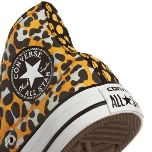 Converse Chuck Taylor Ani Print Hi 308440-55-15 Damen Sneaker Vecchio Oro / Nero
