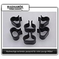 Ragnarök-Möbeldesign Gartenmmöbel Lounge-Verbinder Modell S42, S65 Sowie S80, S90 und DS23/DS13 Verstärkte Ausführung
