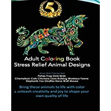 Adult Coloring Book Provides Stress Relief With Best Selling Animal Kingdom Designs Of Fishes Frog Owls