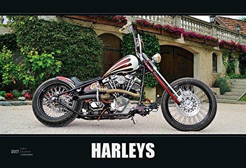 Preisvergleich Produktbild Harleys 2017 - Bildkalender quer (50 x 34) - Motorradkalender - Technikkalender