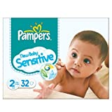 Pampers New Baby Size 2 (3-6kg) Sensitive Carry Pack Mini 6x32 per pack by Pampers