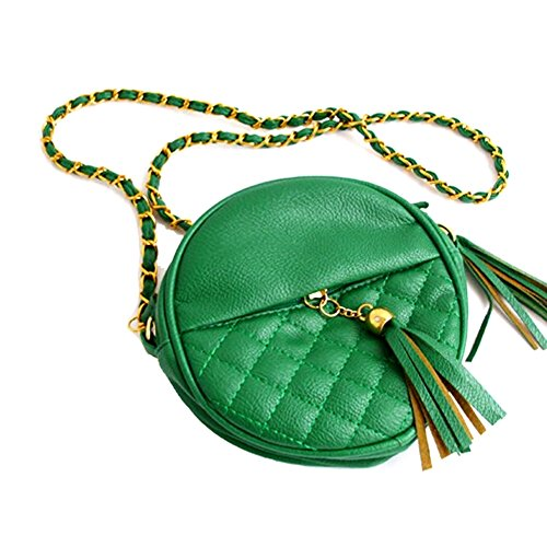 GSPStyle 002935-P, Borsa a spalla donna verde (verde)