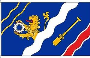 Hissflagge Niederahr - 120 x 200cm - Flagge und Fahne